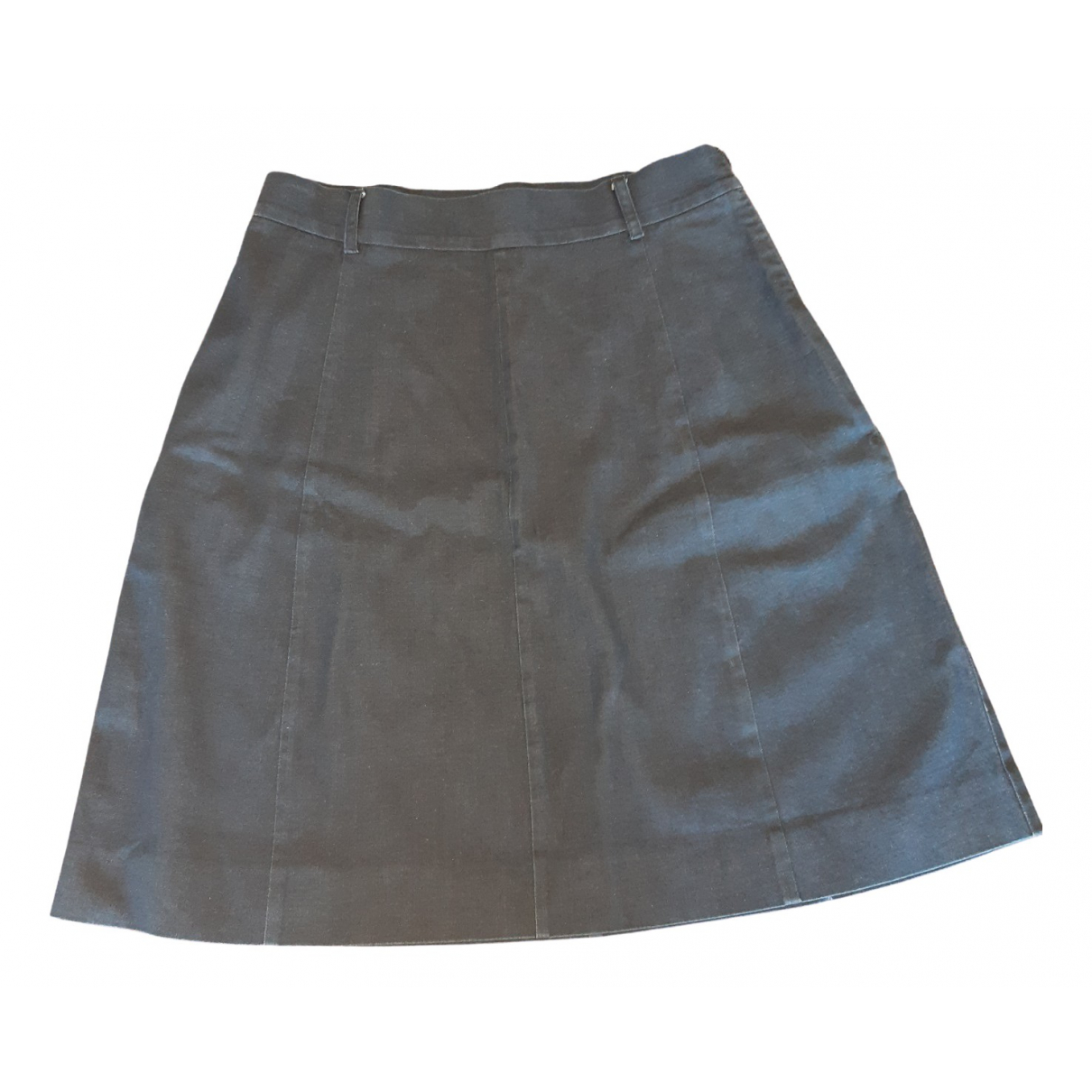 Moschino Cheap And Chic \N Blue Cotton - elasthane skirt for Women 44 IT