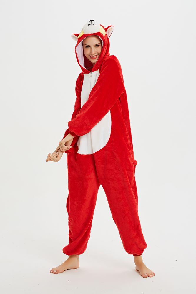 Kigurumi Sakuragi Hanamichi pyjama Animal Onesie pour femmes vetements de nuit adulte dessin anime fete Cospaly pyjama d'hiver le nouveau