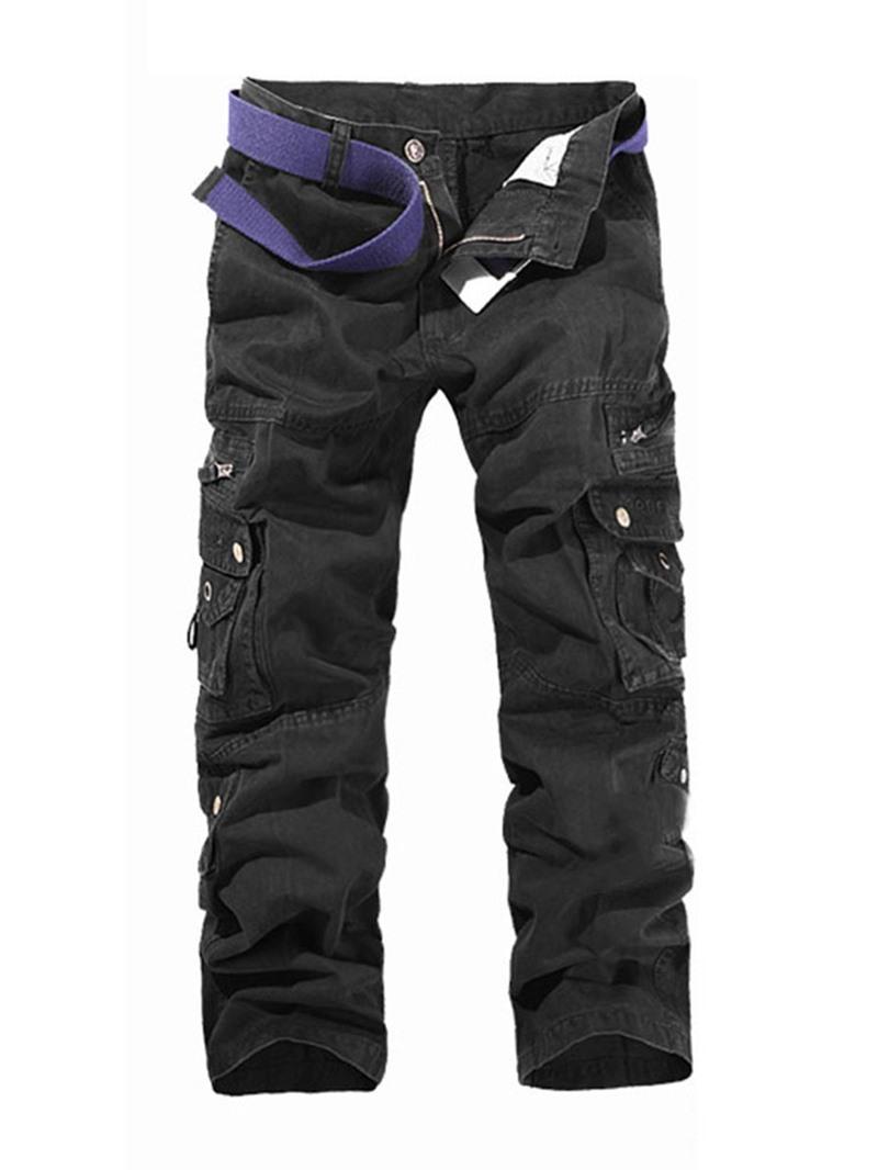 Ericdress Pocket Style Zipper Men's Casual Pants