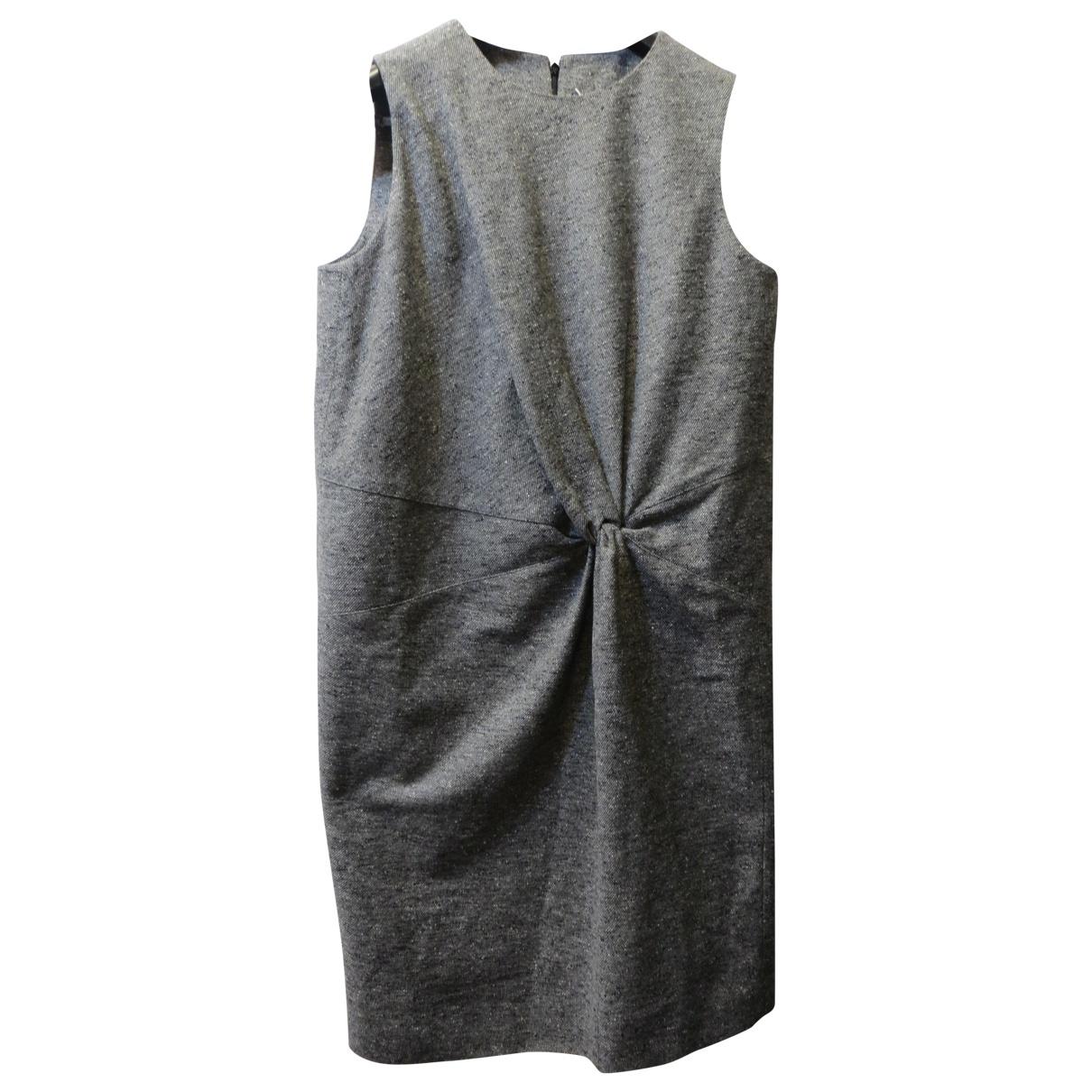 Maison Martin Margiela \N Kleid in  Grau Wolle