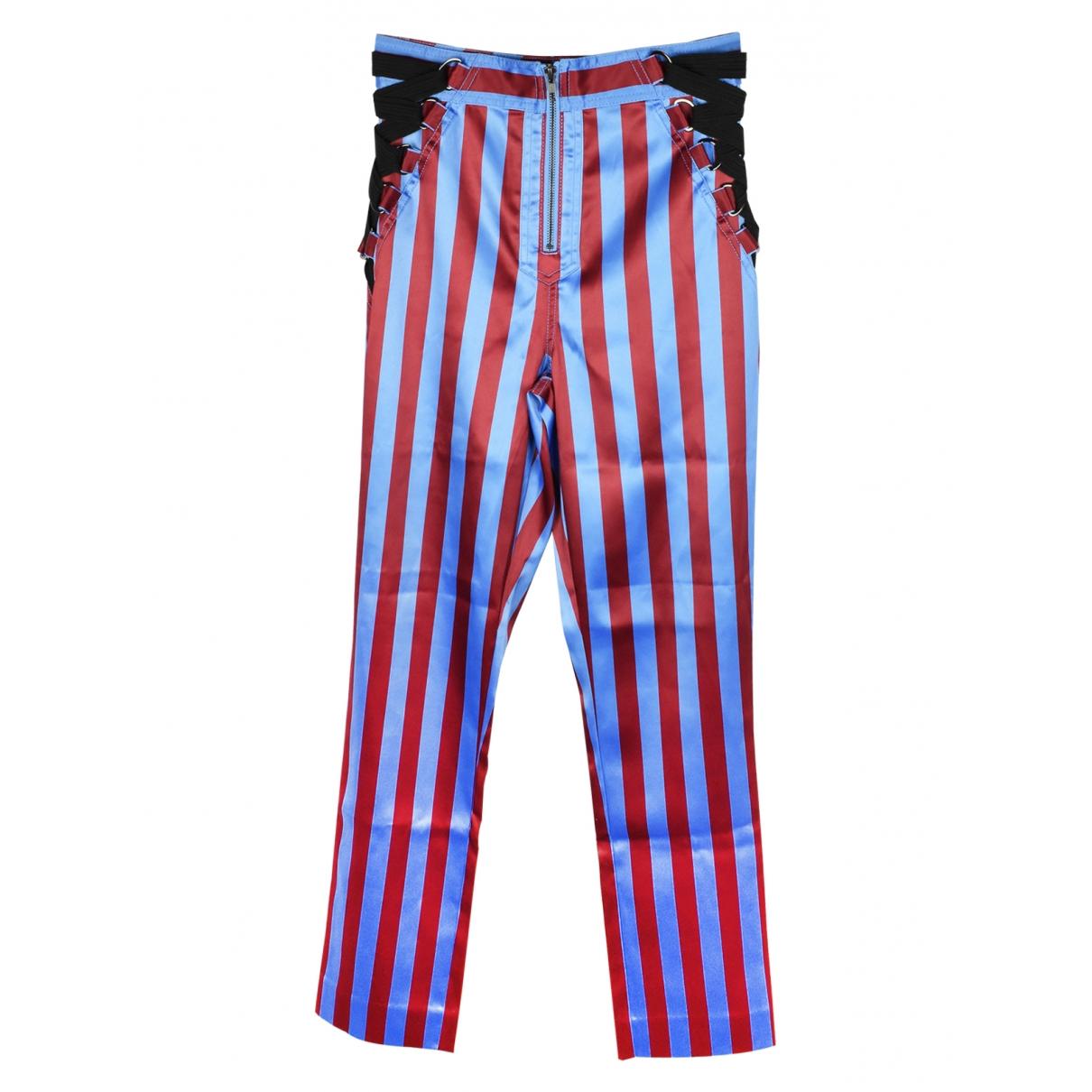 Self Portrait \N Multicolour Trousers for Women 10 UK