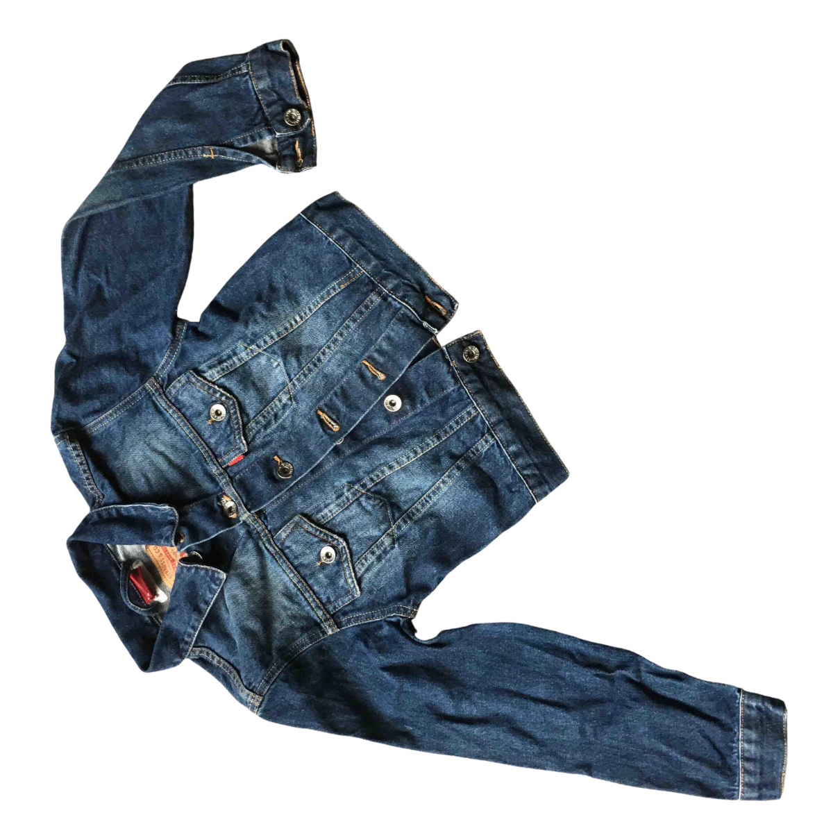 Levi's N Blue Cotton jacket & coat for Kids 10 years - up to 142cm FR