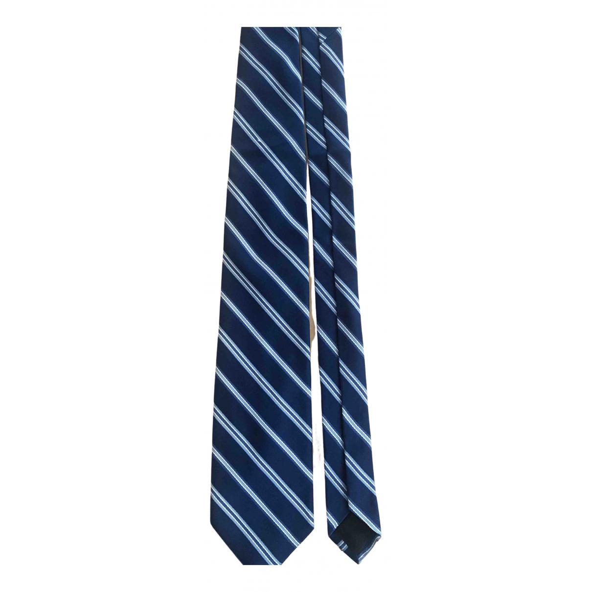Brooks Brothers - Cravates   pour homme en soie - bleu