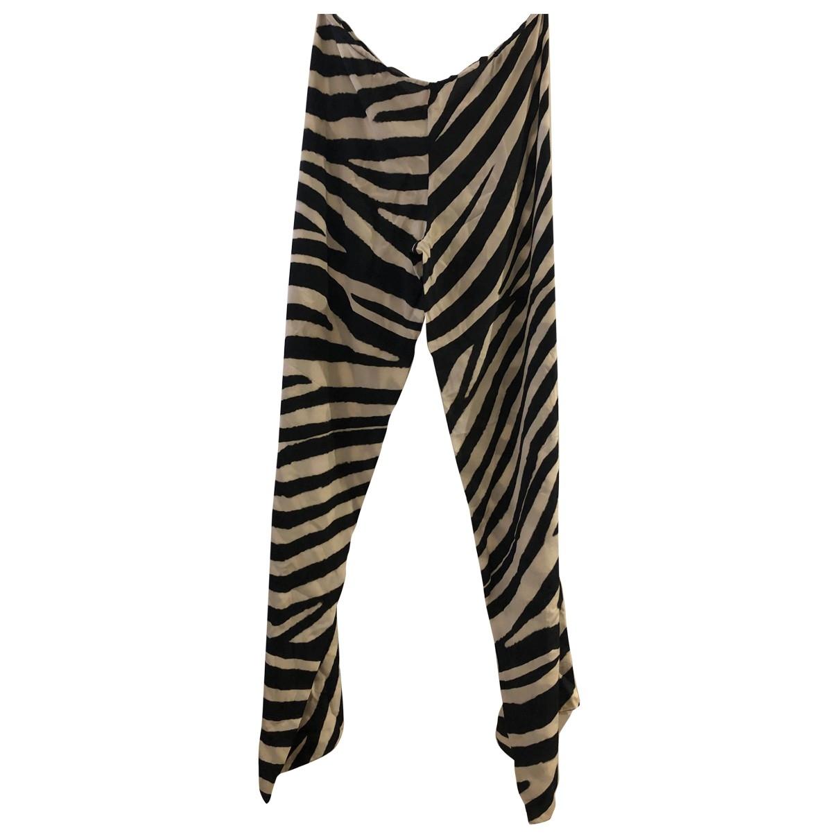 Amanda Wakeley \N Black Trousers for Women M International