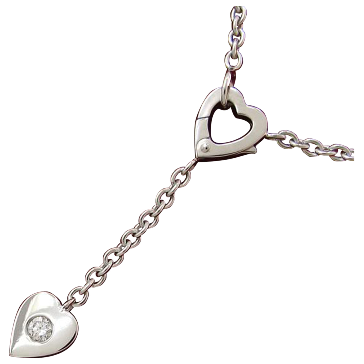 Chanel N White gold necklace for Women N