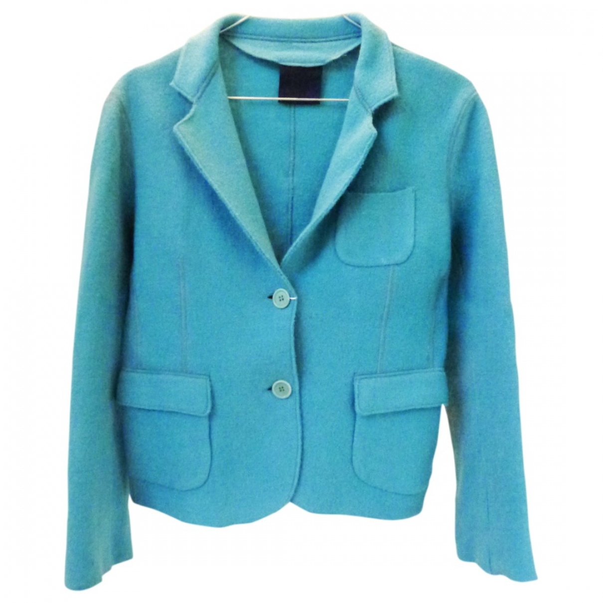 Aspesi \N Turquoise Wool jacket for Women 42 IT