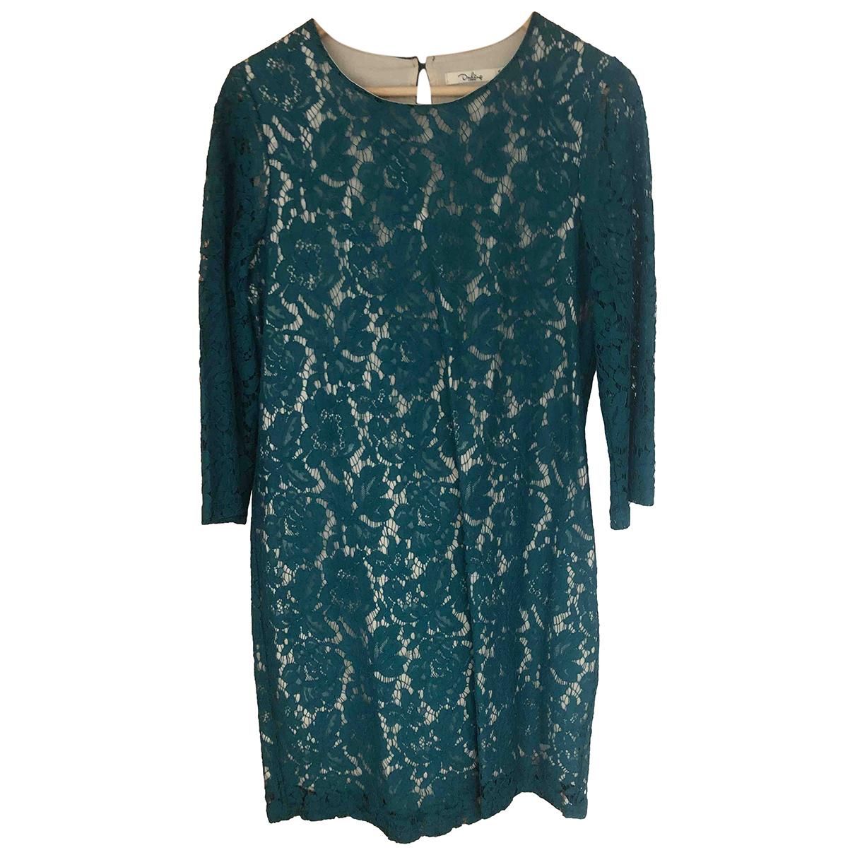 Darling - Robe   pour femme en dentelle - vert