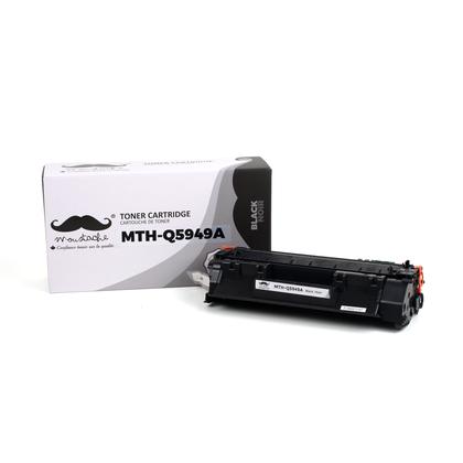 Compatible HP 49A Q5949A Black Toner Cartridge - Moustache - 1/Pack