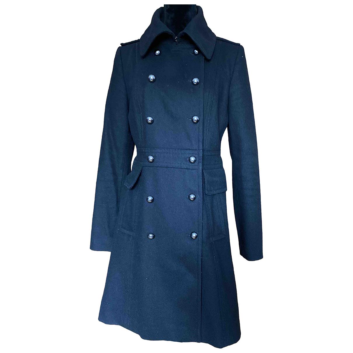 Hallhuber N Black Wool coat for Women M International