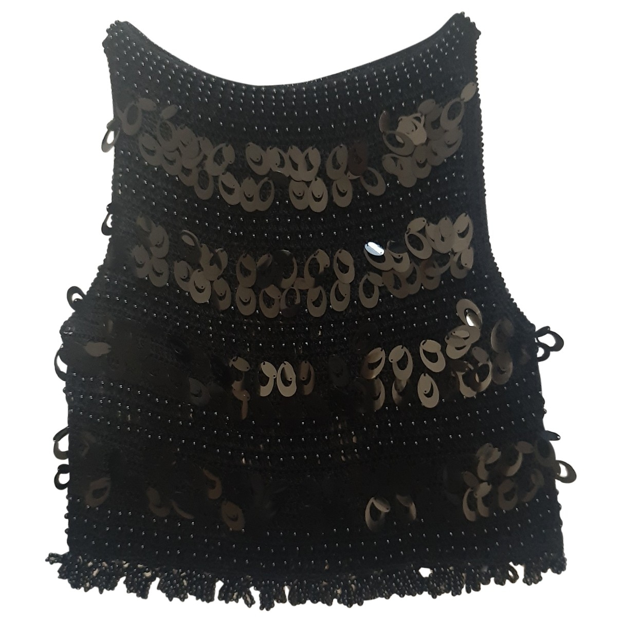 Non Signé / Unsigned \N Black  top for Women S International