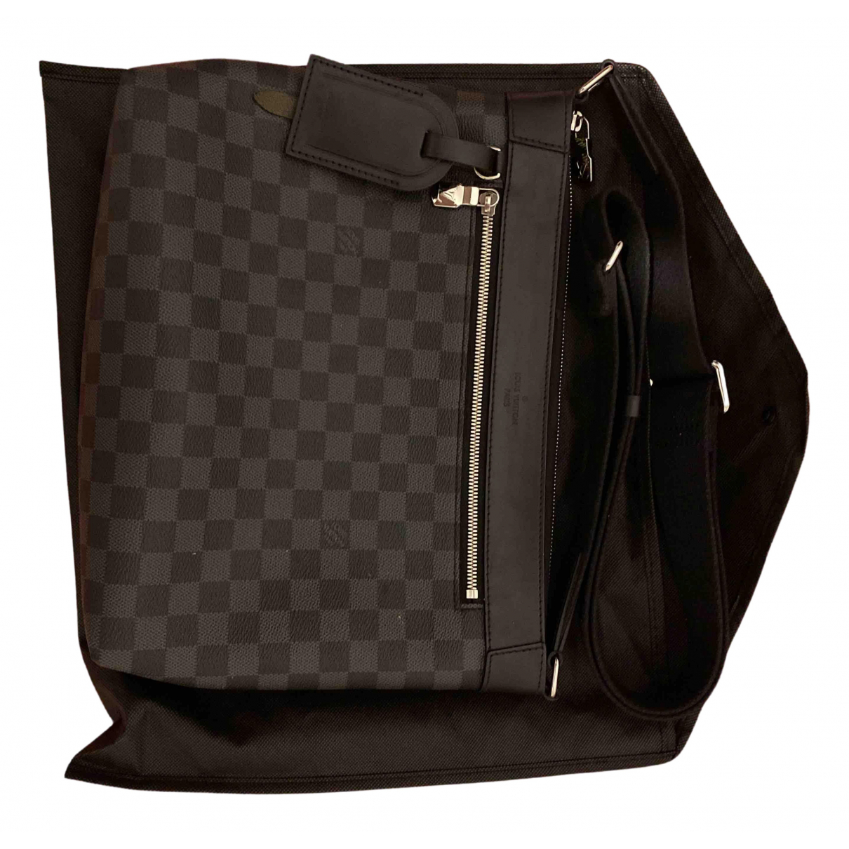 Louis Vuitton Mick PM Black Cloth bag for Men \N