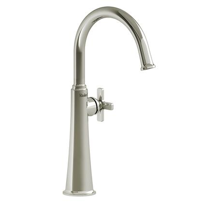 Momenti MMRDL01XPN-05 Single Hole Lavatory Faucet with X Cross Handle 0.5 GPM  in Polished