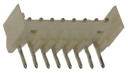 Molex , Micro-Latch, 53254, 8 Way, 1 Row, Right Angle PCB Header (10)