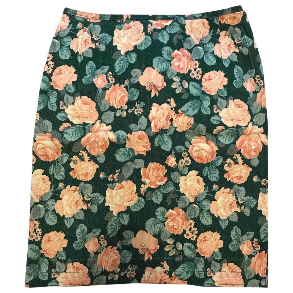 Non Signé / Unsigned \N Multicolour Cotton skirt for Women M International