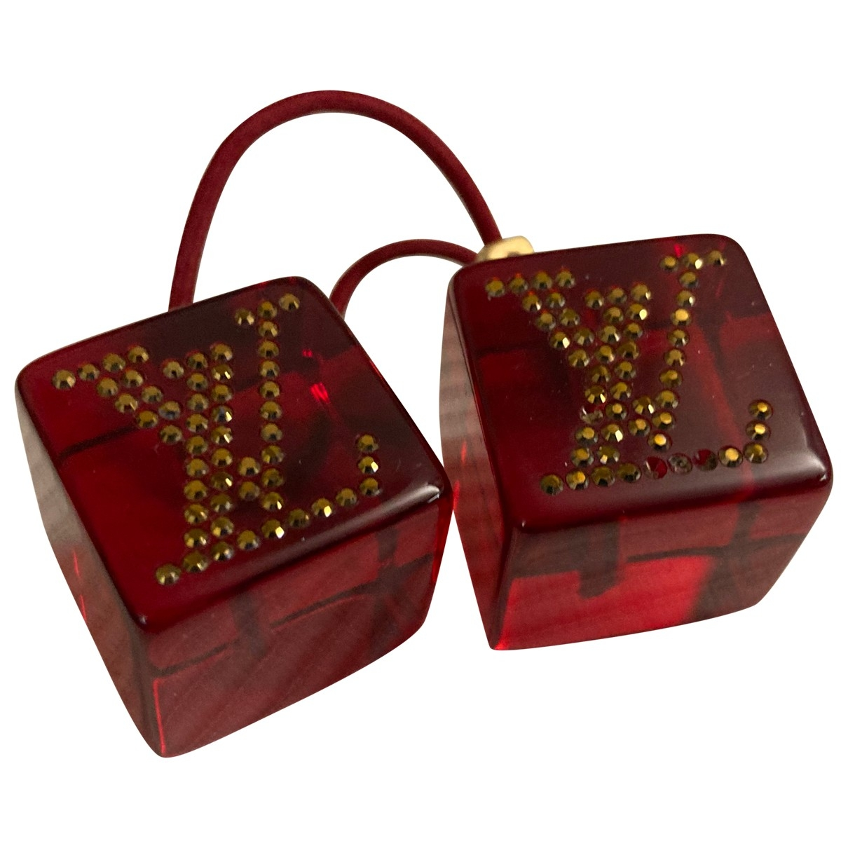 Louis Vuitton \N Haarschmuck in  Rot Kunststoff