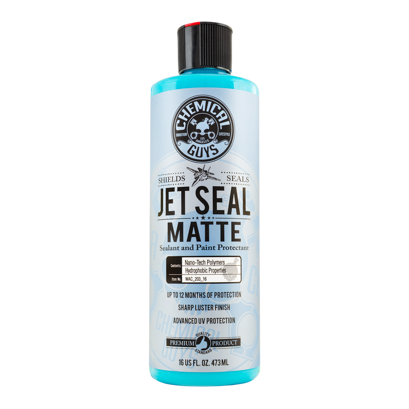 Jetseal Matte Sealant And Paint Protectant - Chemical Guys