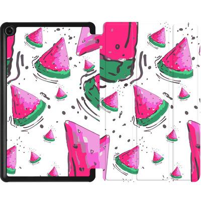 Amazon Fire 7 (2017) Tablet Smart Case - Watermelon Crush von Mukta Lata Barua