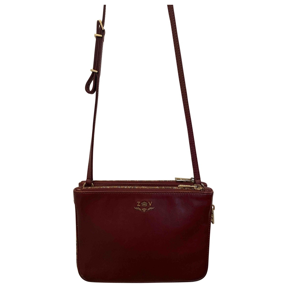 Zadig & Voltaire \N Burgundy Leather handbag for Women \N