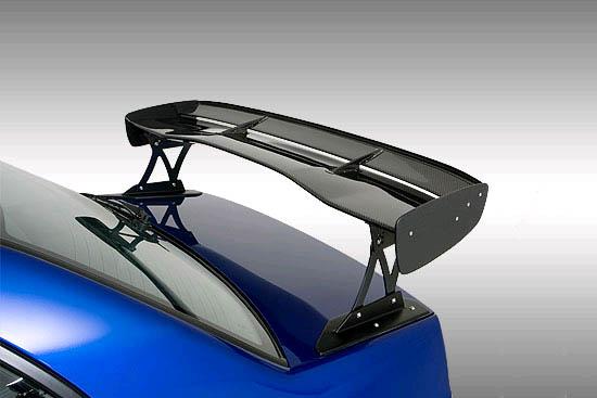 INGS Z-Power Wing 1400mm Wet Carbon Mitsubishi EVO IX 05-07