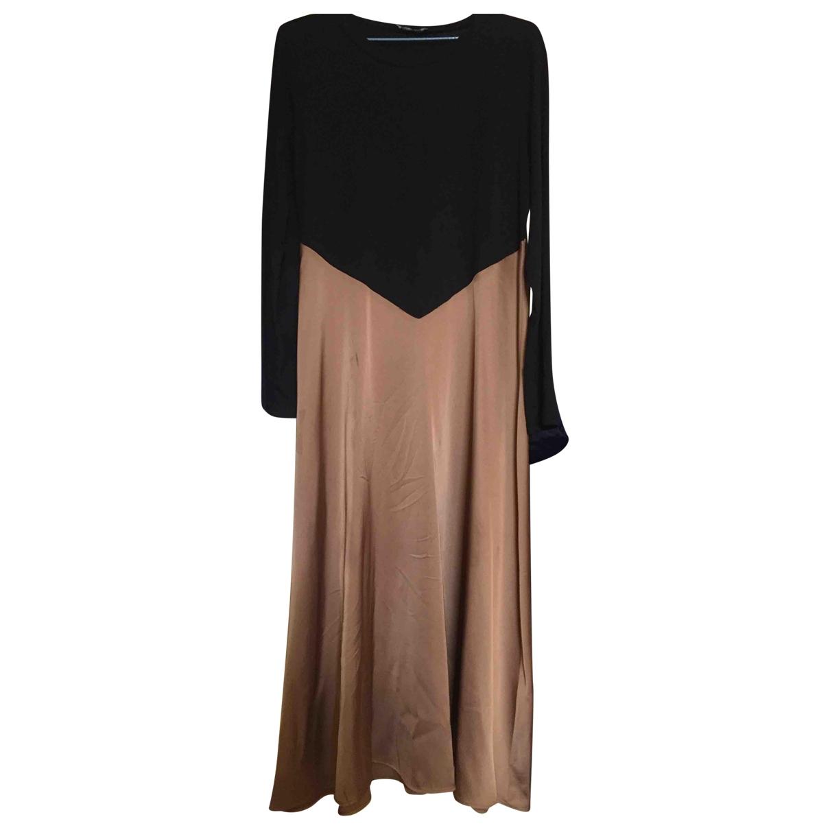Zara \N Kleid in Baumwolle - Elasthan