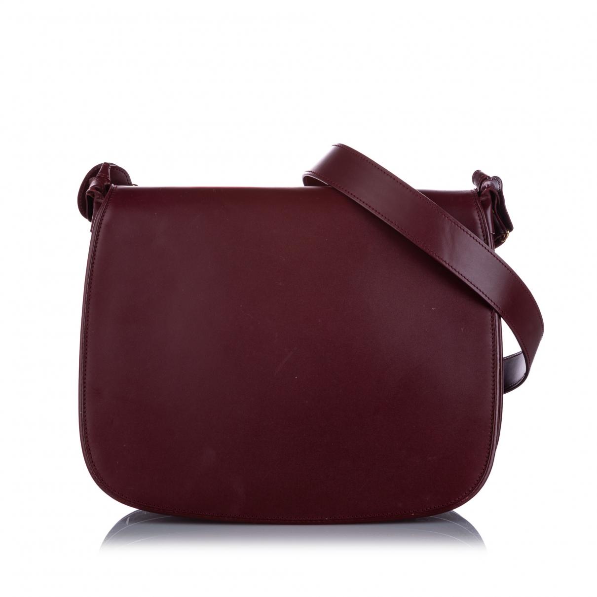 Cartier \N Handtasche in  Rot Leder