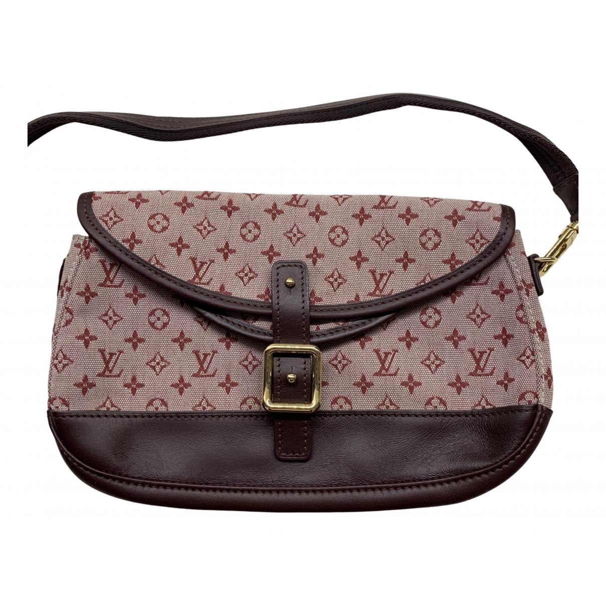 Louis Vuitton \N Red Cotton handbag for Women \N