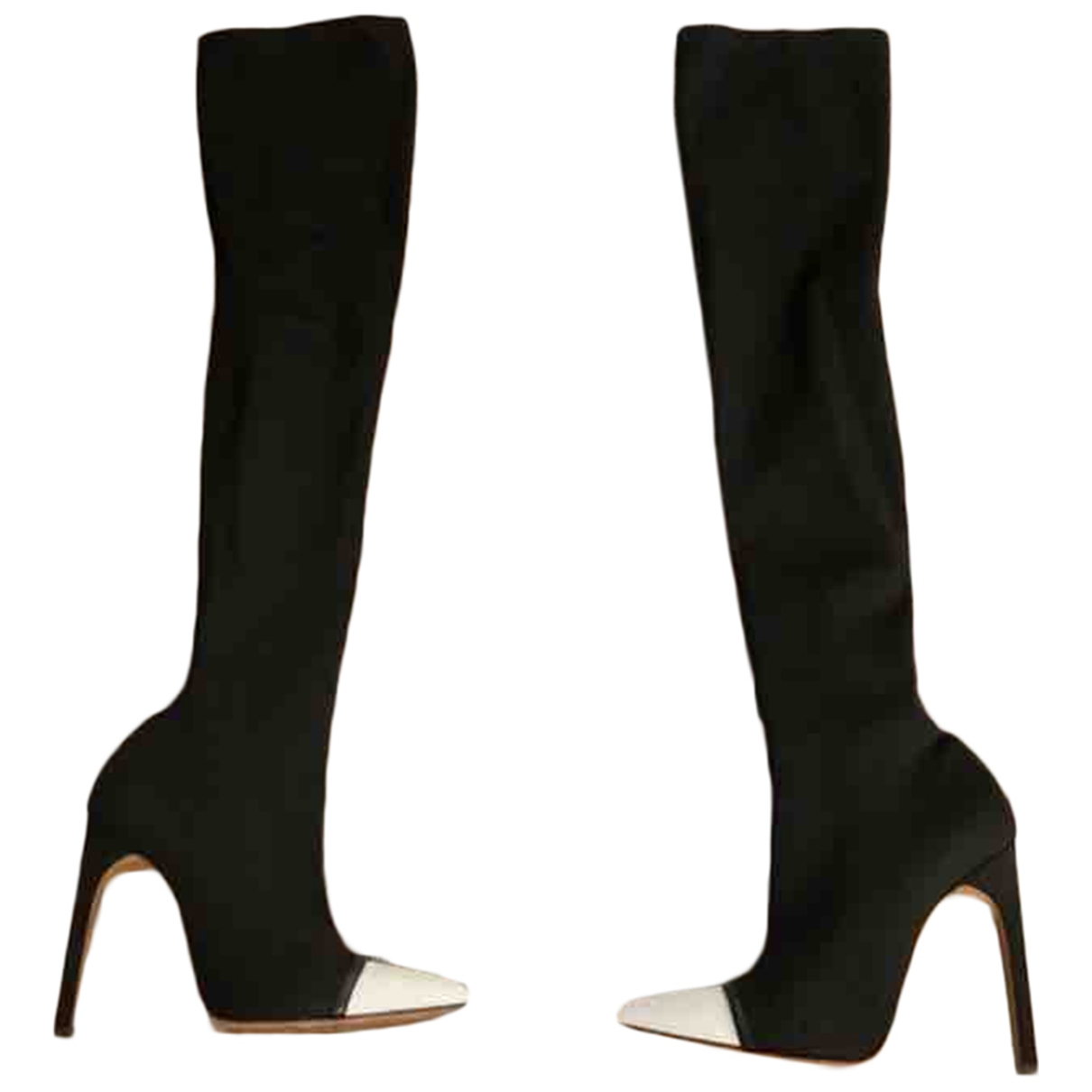 Givenchy \N Black Cloth Boots for Women 40 EU