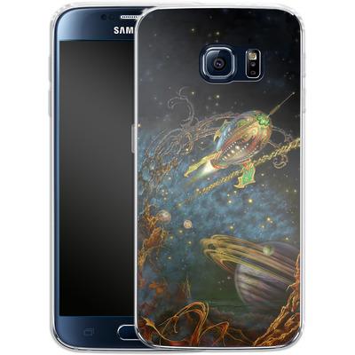 Samsung Galaxy S6 Silikon Handyhuelle - Myles Pinkeney - The Archway von TATE and CO