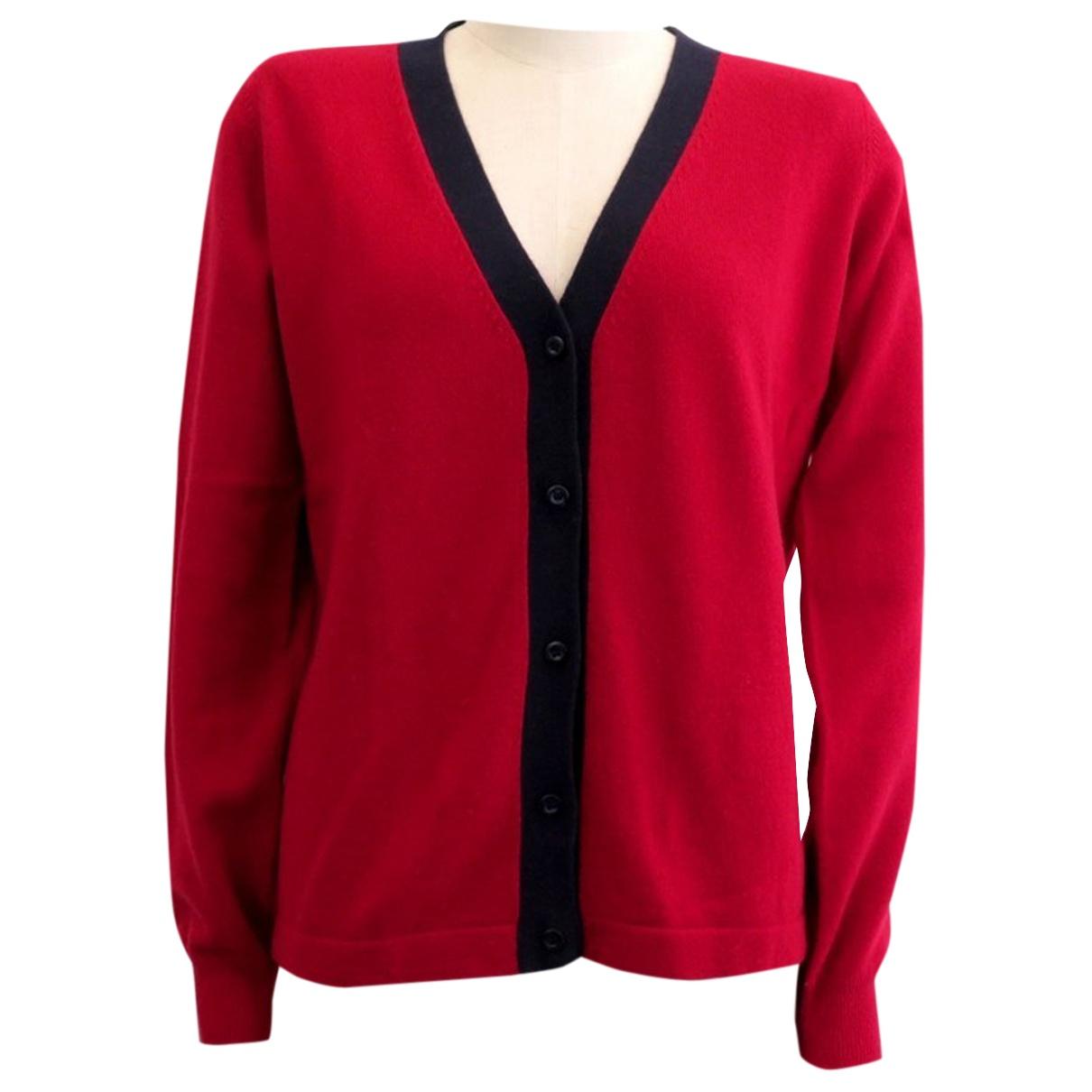 Prada N Red Wool Knitwear for Women M International