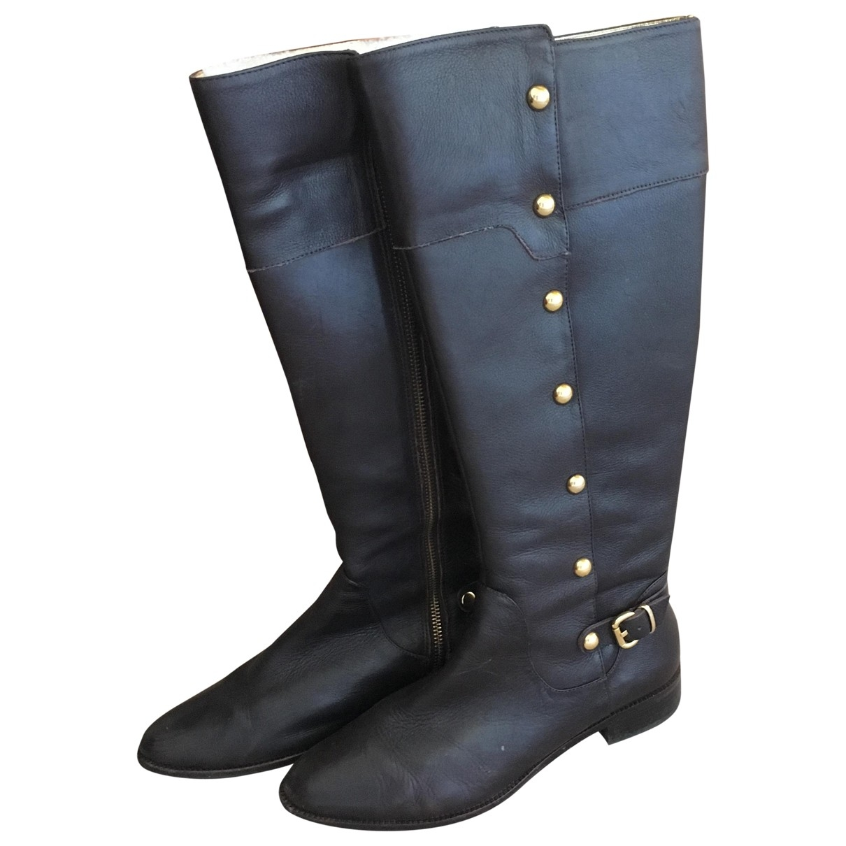 Michael Kors \N Brown Leather Boots for Women 8 US