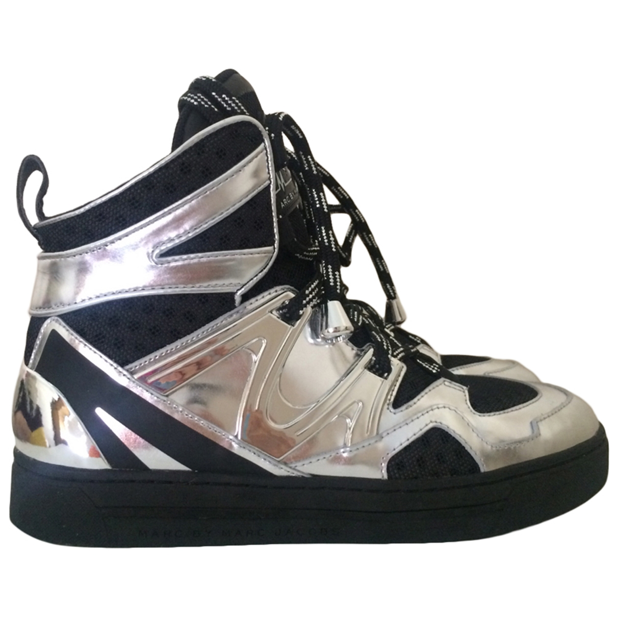Marc By Marc Jacobs \N Sneakers in  Silber Leder