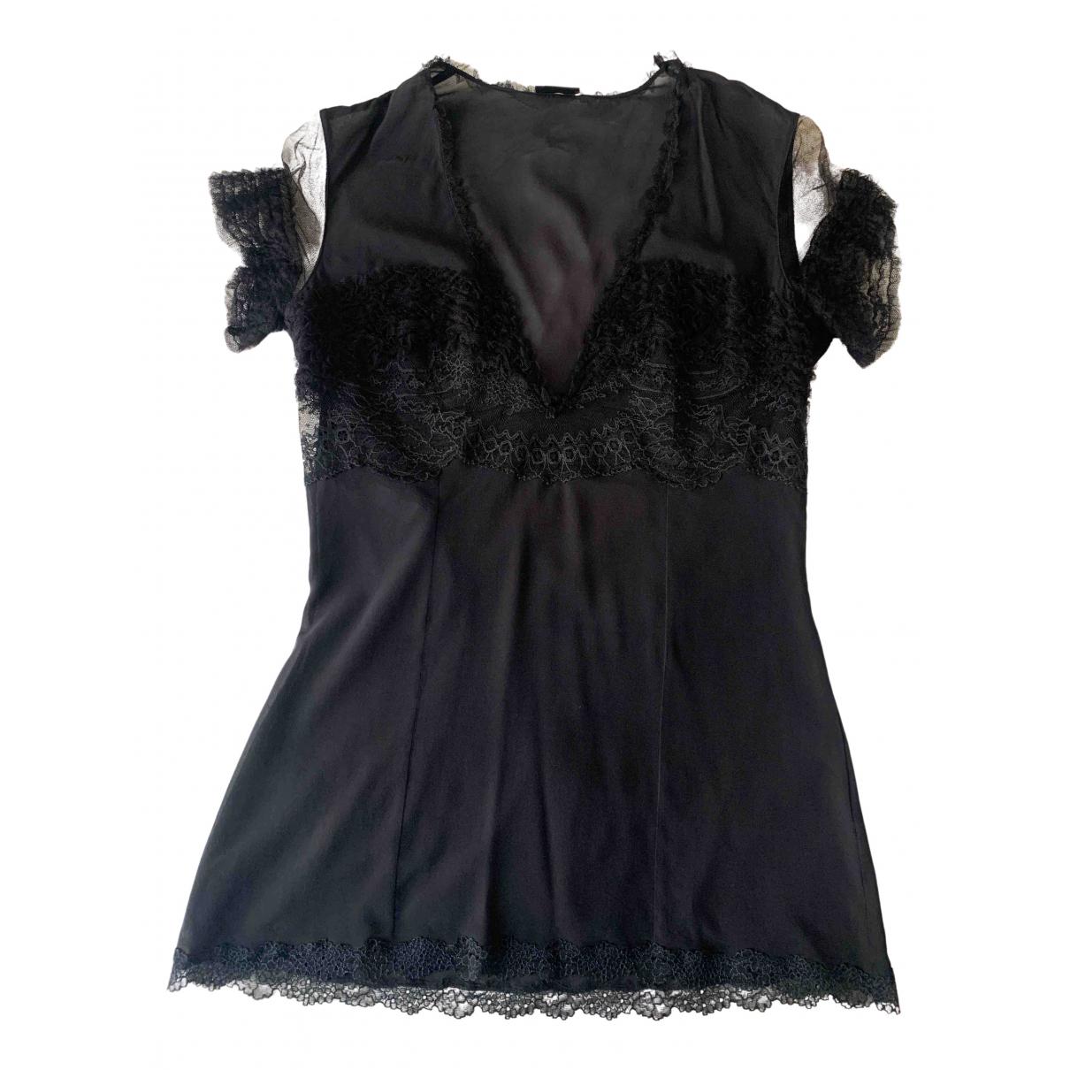 La Perla - Top   pour femme en soie - noir