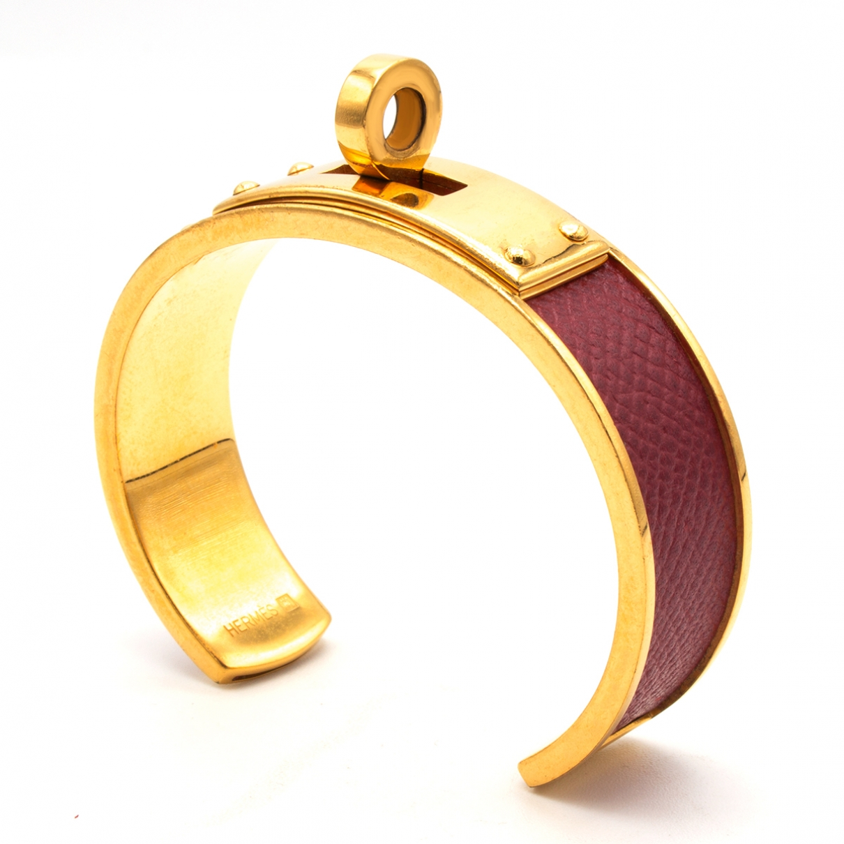 Hermès Kelly Gold Gold plated bracelet for Women \N