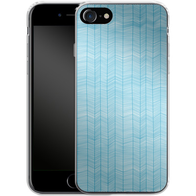 Apple iPhone 7 Silikon Handyhuelle - Fishbone von caseable Designs