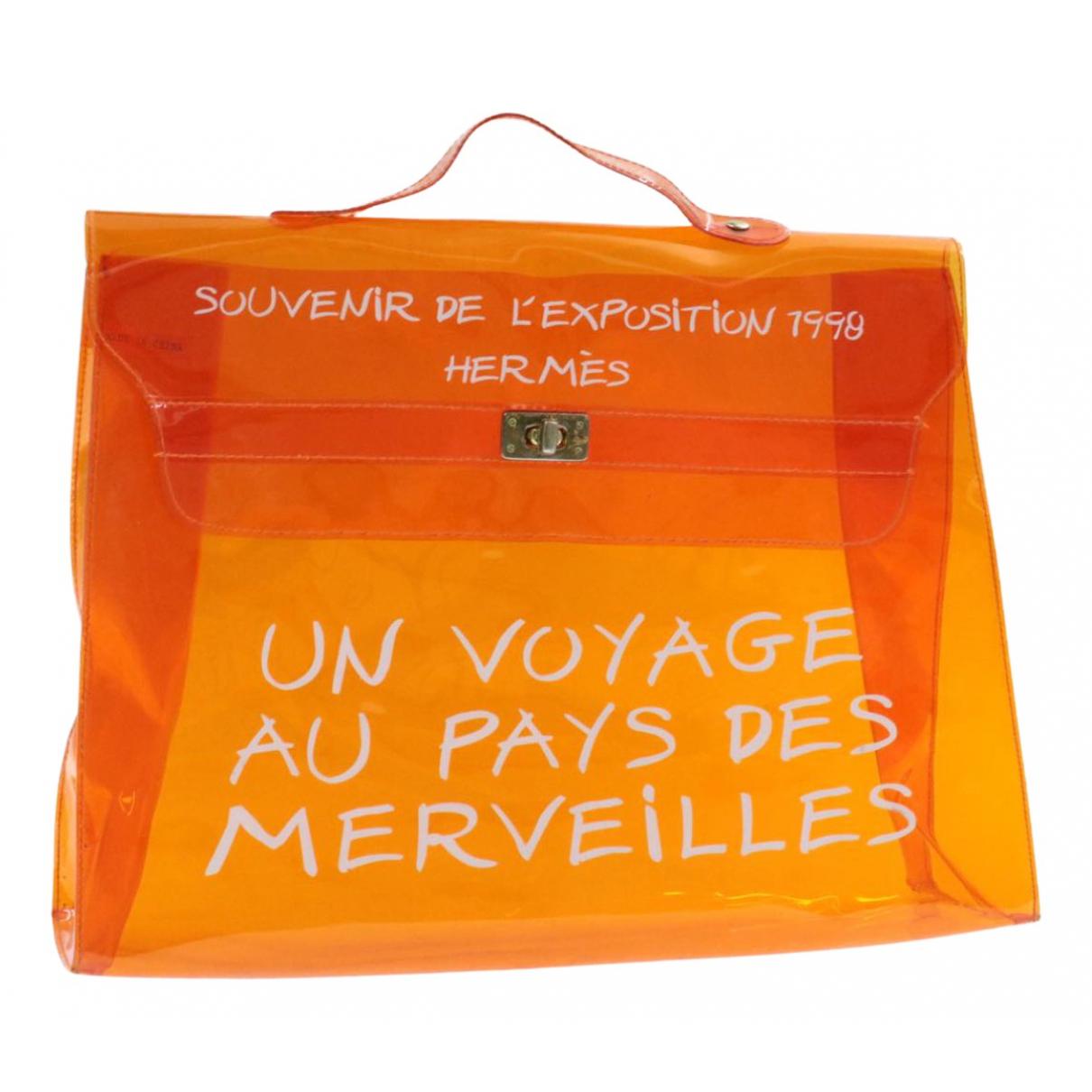 Hermès Kelly 40 Orange handbag for Women N
