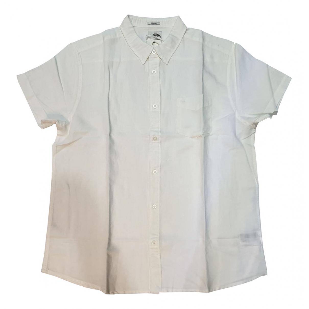 Wrangler \N Pullover.Westen.Sweatshirts  in  Weiss Baumwolle
