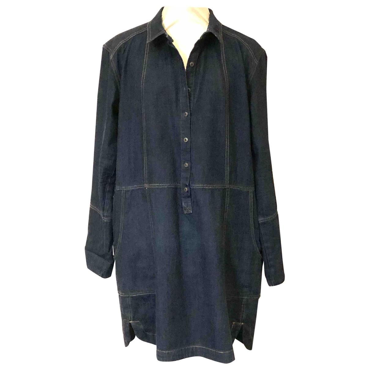 Free People \N Blue Denim - Jeans dress for Women One Size International