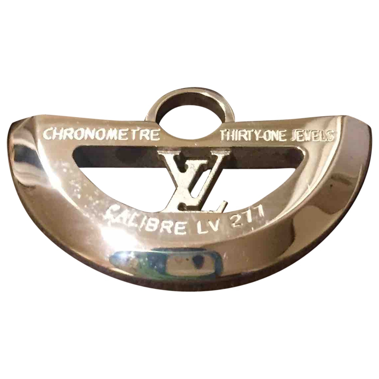 Louis Vuitton N White Silver pendant for Women N