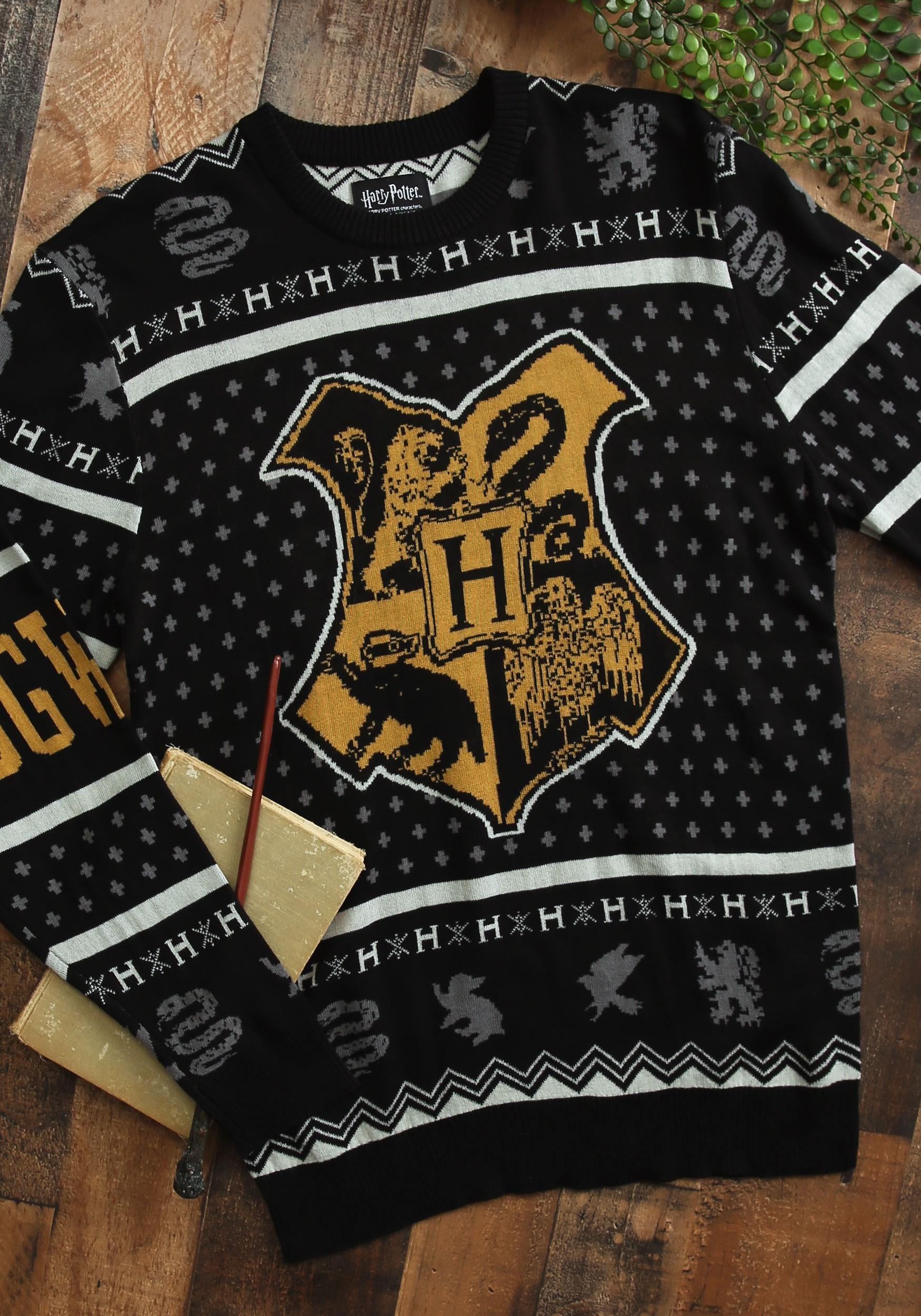 Harry Potter Hogwarts Ugly Christmas Sweater