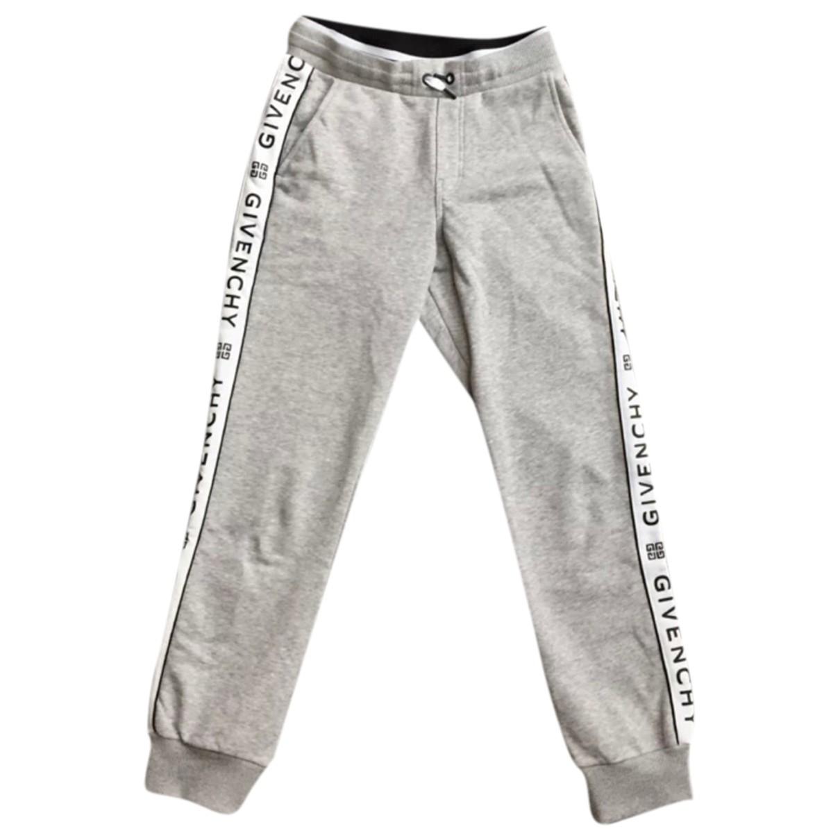 Givenchy - Pantalon   pour enfant en coton - gris