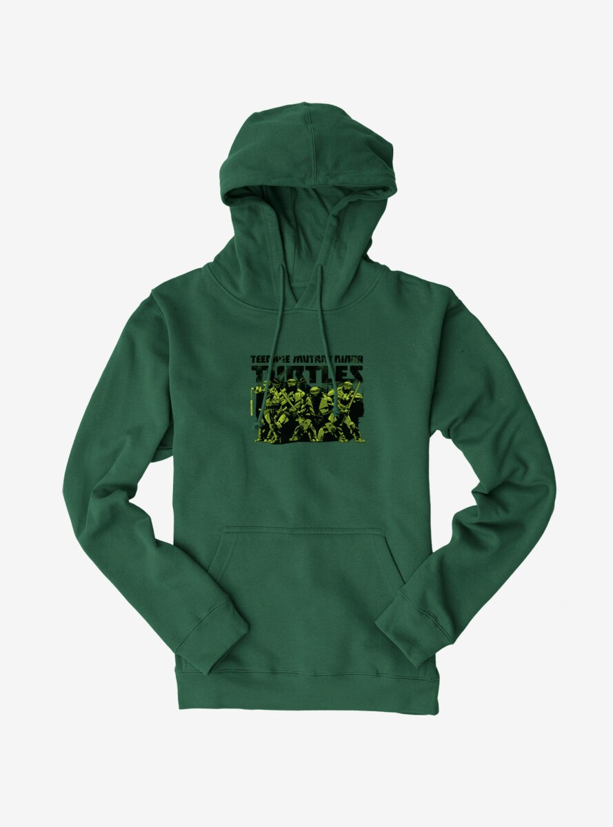 Teenage Mutant Ninja Turtles Title Group Hoodie