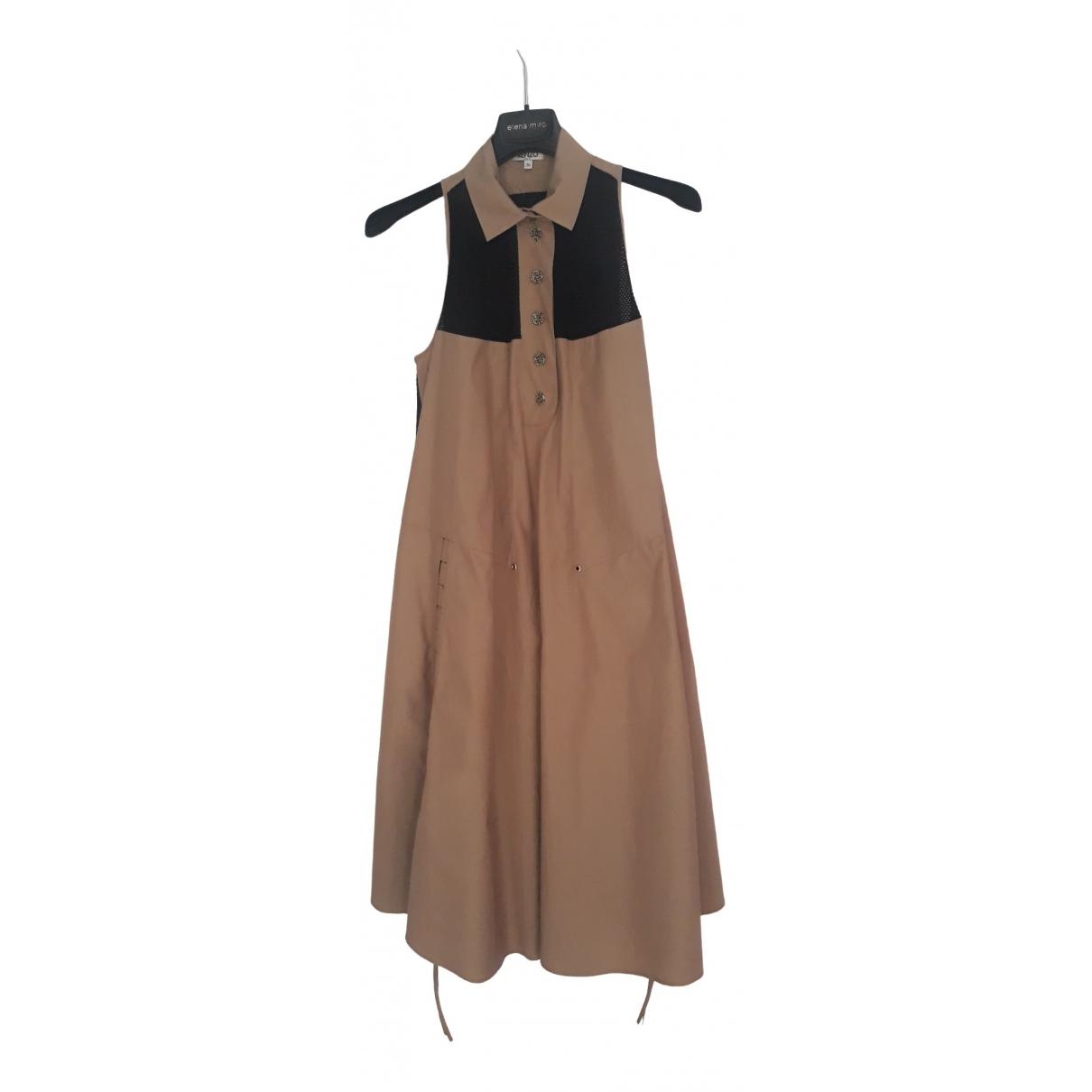 Kenzo \N Camel Cotton dress for Women 36 FR