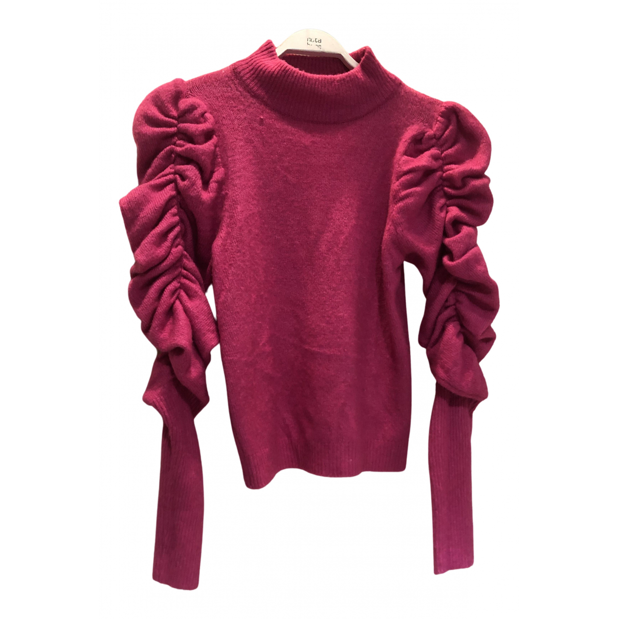 Non Signé / Unsigned N Pink Knitwear for Women One Size IT