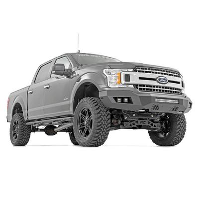 Rough Country Heavy Duty Front LED Bumper (Black) - 10776