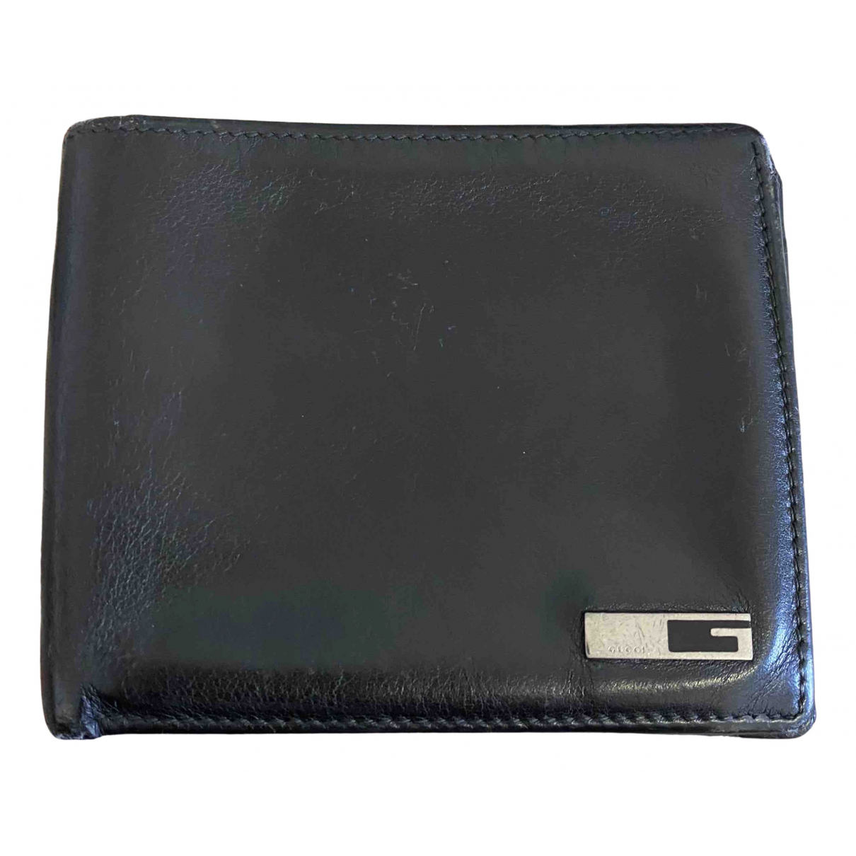 Gucci Continental Black Leather wallet for Women N