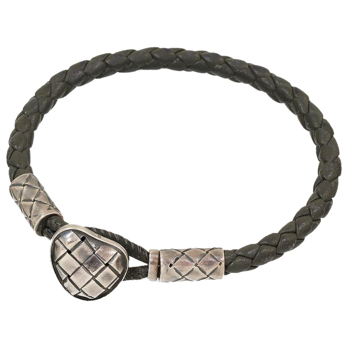 Bottega Veneta - Bracelet   pour femme en argent