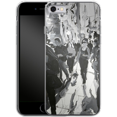 Apple iPhone 6 Silikon Handyhuelle - It Was the Dog von Tom Christopher
