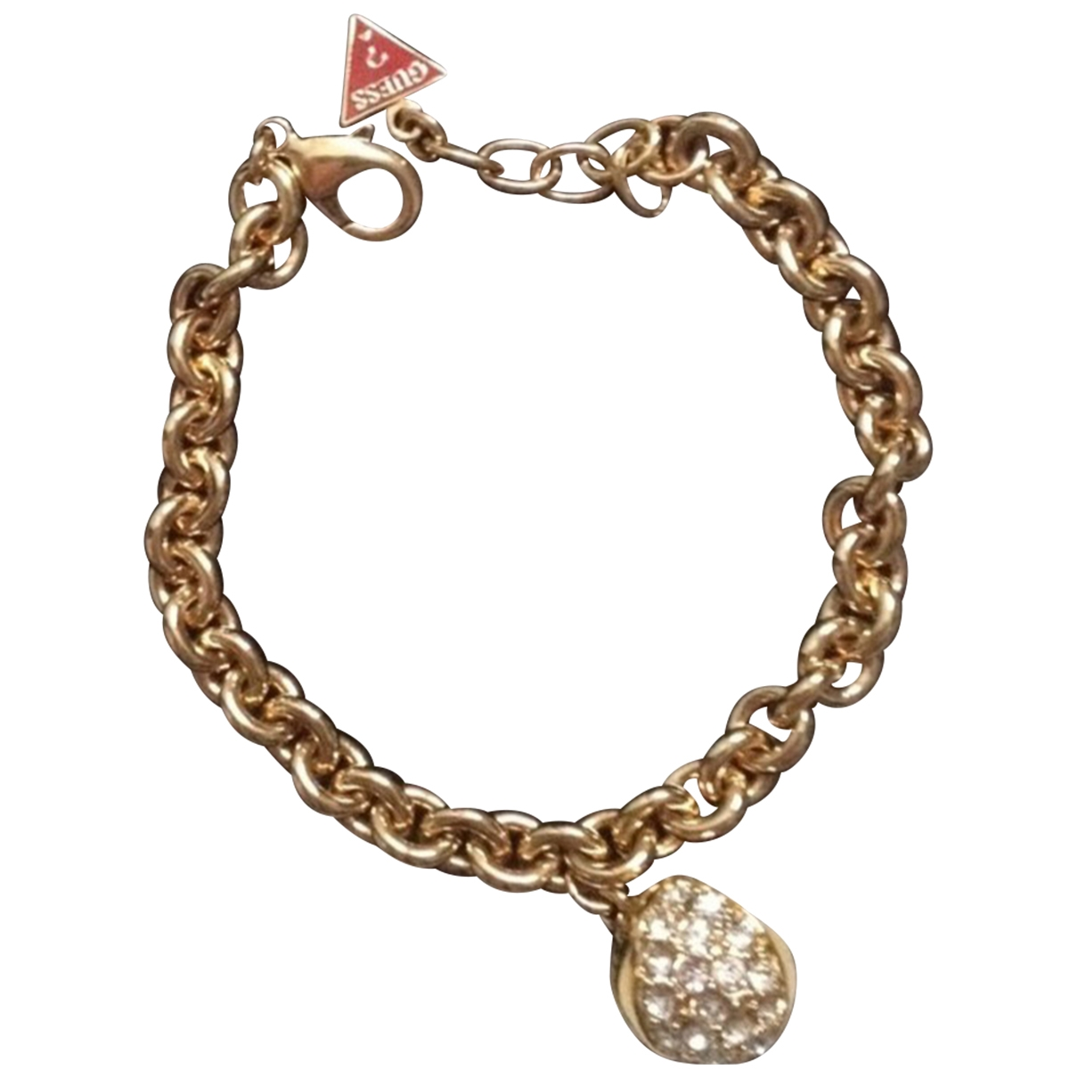 Guess \N Armband in  Gold Stahl
