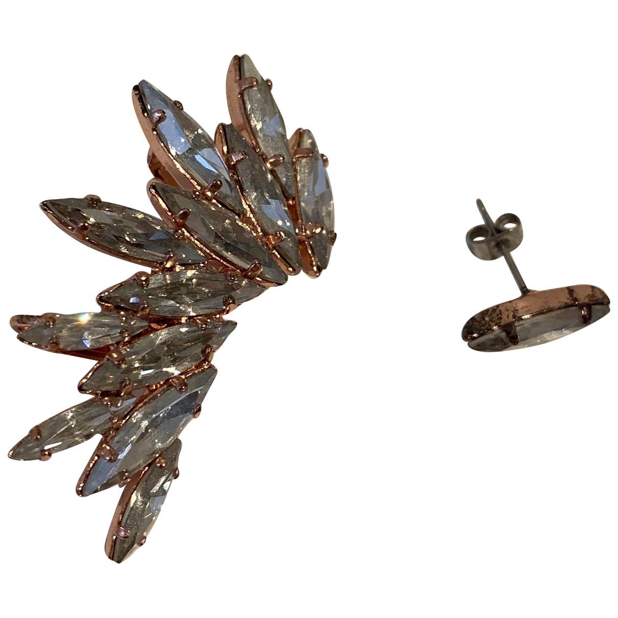 Ryan Storer - Boucles doreilles   pour femme en metal - dore