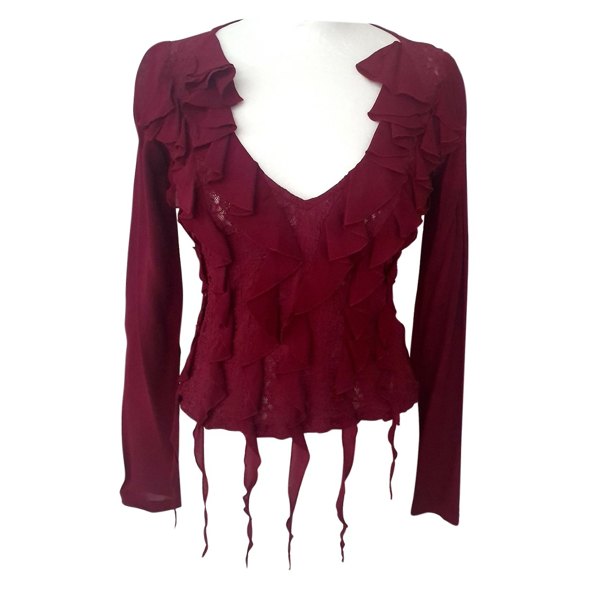 Versace Jeans \N Burgundy  top for Women S International